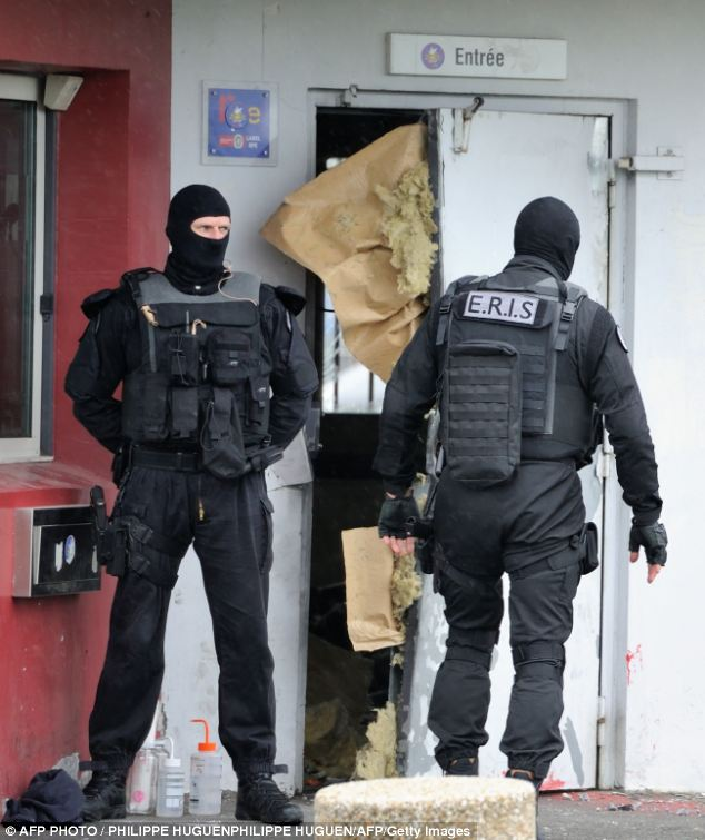 Redoine Faid used explosives to blast through five prison doors and break free in the northern town of Sequedin