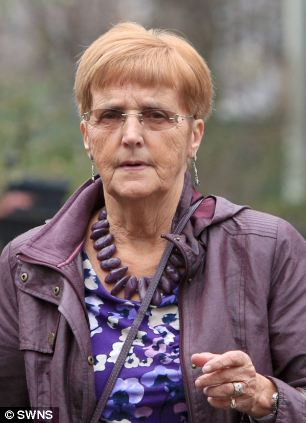 Claire Burke repeatedly desecrated the grave of Jill Wilks and her one-day-old granddaughter