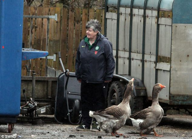 Zoo workers were able to assess the damage at Five Sisters Zoo, where dozens of animals died in a blaze today