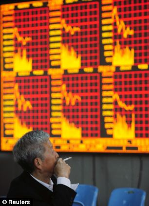 The Chinese government had hoped for 8 per cent growth in the first quarter of 2013