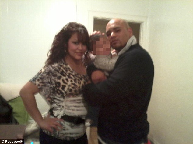 Other children: The couple, pictured, have two older children who have been placed in the care of relatives