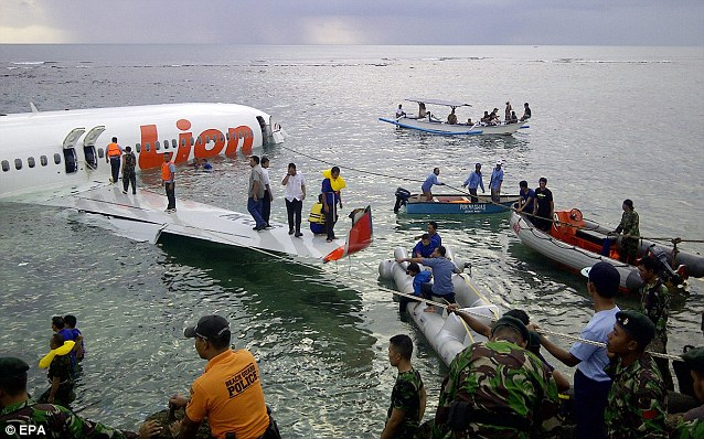 The pilot of the Lion Air jet reported feeling 'dragged' down by a microburst of wind