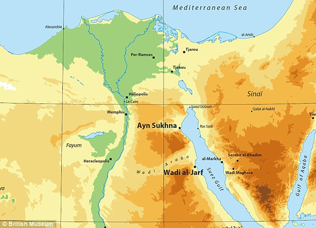 The harbor, discovered on the Red Sea coast, is believed to date back 4,500 years, to the days of the Pharaoh Khufu (Cheops) in the Fourth Dynasty