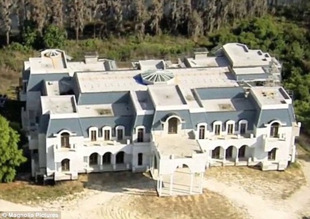 Long-term project: The couple started building their mansion on a ten acre plot more than a decade ago