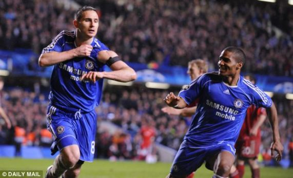 Image result for chelsea 3-2 liverpool 2008 lampard