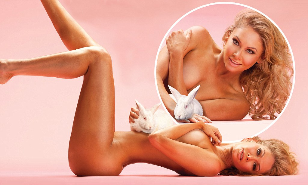 Dancing with the Stars Kym Johnson gets naked cuddles