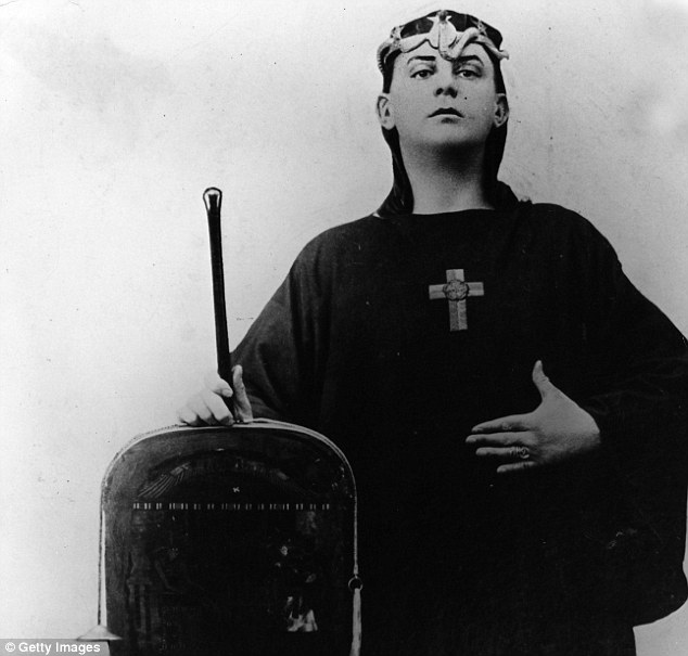 Malevolent: OTO was set up by Aleister Crowley, who revelled in the title of 'the wickedest man in the world'