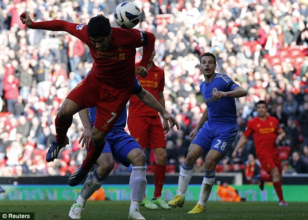 97th minute: Suarez's equaliser couldn't have come much later