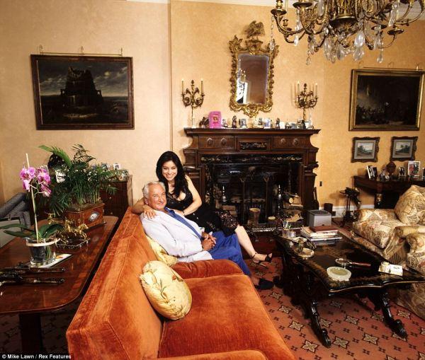 Michael Winner' Palatial Holland Park Mansion