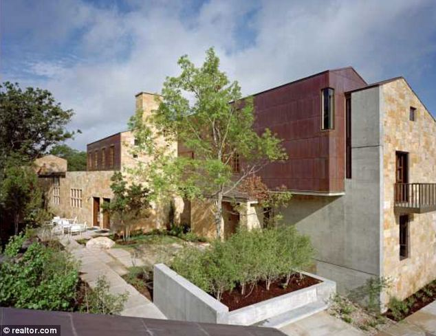 Private: The new home replaces Armstrong's old house in Central Austin, which reportedly lacked privacy - something the recently exposed drugs cheat may well be craving now