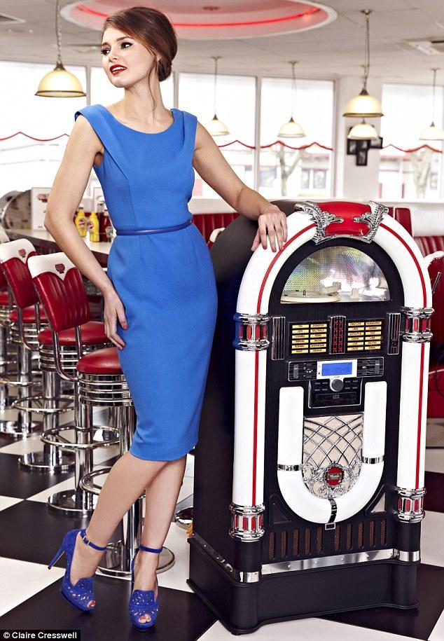 Austique Dress, £395, London-boutiques.co.uk, Belt, £39, Twiggy at Fenwick: 02076299161, Shoes, £395, jimmychoo.com