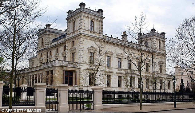 Image result for Kensington Palace Gardens, London
