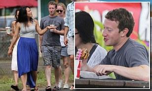 Billionaire Mark Zuckerberg Enjoys Budget Hawaiian Vacation With Wife Priscilla Daily Mail Online