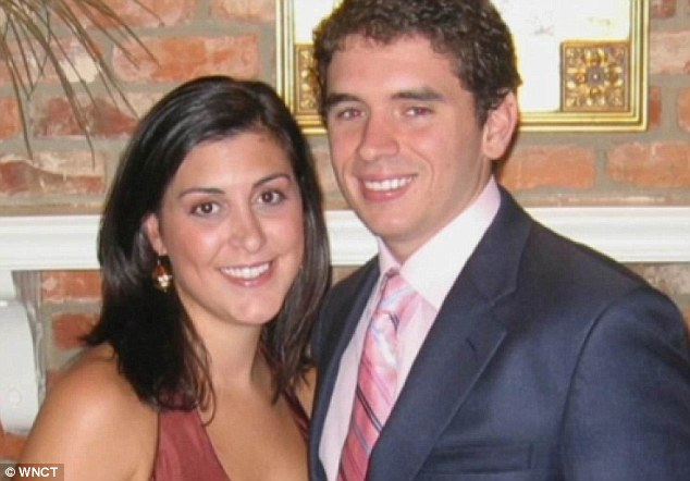 Ripped apart: The couple, who were both well known in political circles in North Carolina, married in 2009