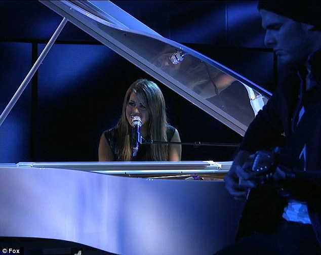 Who needs Elton John: Angie Miller became the contestant to beat after her stunning performance
