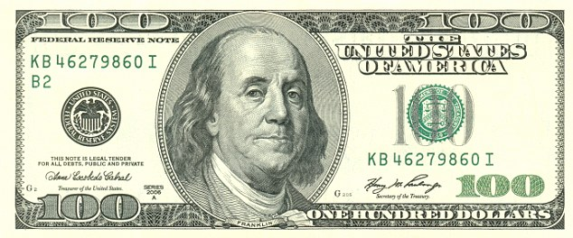 Coveted banknote: The $100 bill is the highest value denomination in general circulation and the most frequent target of counterfeiters