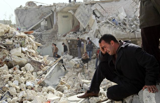 Families have been torn apart by the war, with civilians fighting for the Free Syrian Army