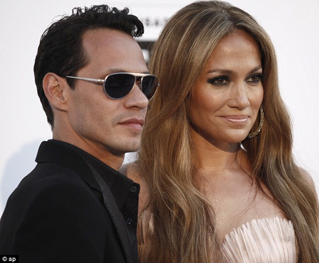 Married: Marc and J-Lo were married for six years and had two children, they are said to remain friends since the split