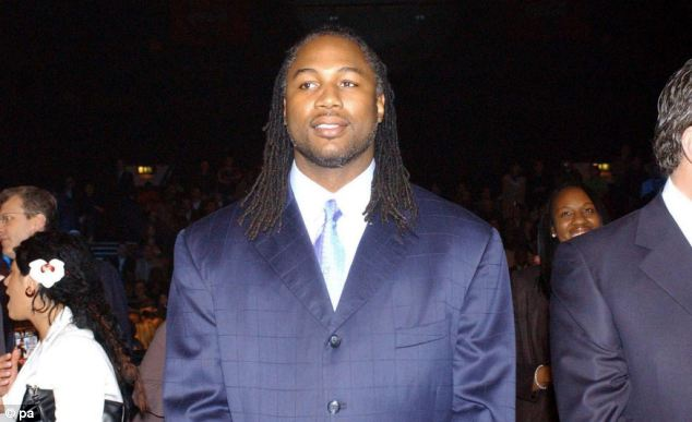 Coining it: Former boxing star Lennox Lewis also made the list with a fortune of £95m