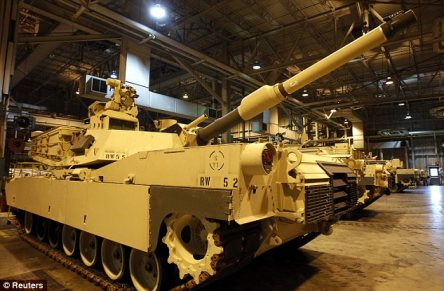 Tanked: Lawmakers from both parties have devoted nearly half a billion dollars in taxpayer funds to build improved versions of the 70-ton Abrams tank, which the Army doesn't want