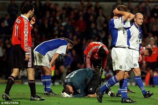 Rover and out: Blackburn are relegated in 1999