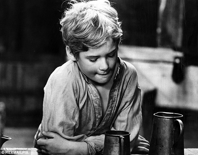 Child star: Mark rose to fame when he starred as Oliver in the 1968 film