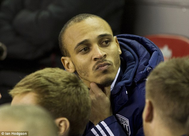 Sidelines: Controversial striker Odemwingie has not featured for the club since the end of March