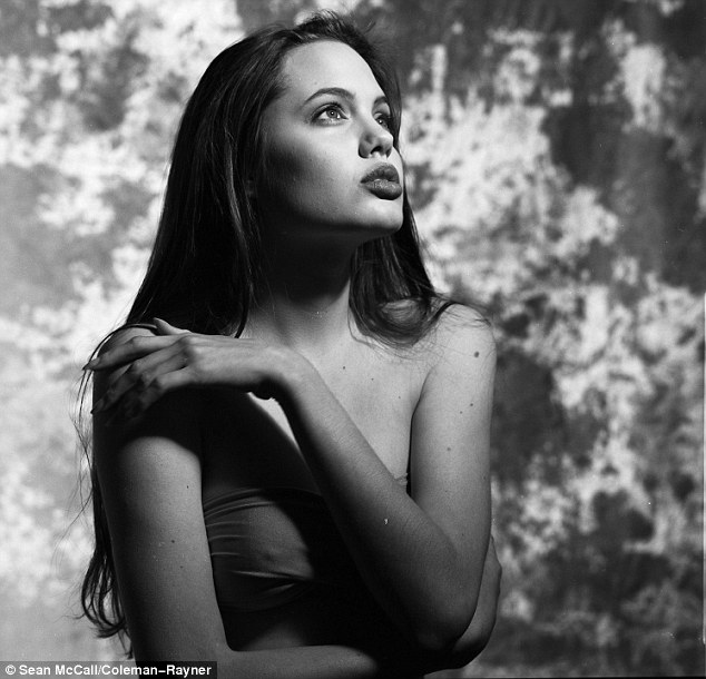 Before she was famous: Angelina Jolie still looked the part as a 16-year-old beauty