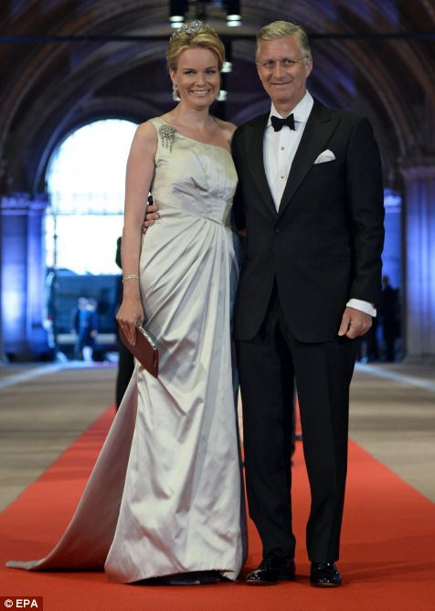 Princess Mathilde and Prince Philippe of Belgium