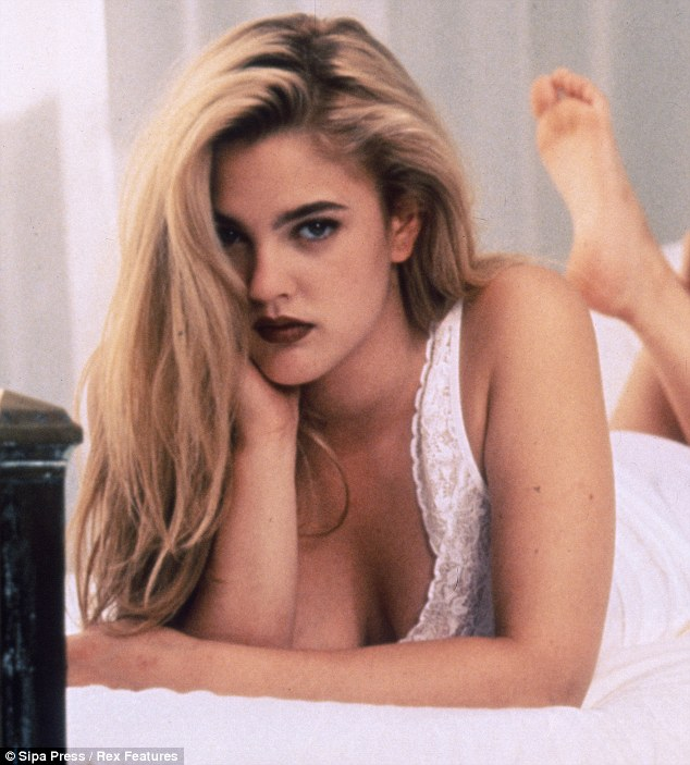 Drew Barrymore Revisits An Old Favourite Hairdo As Goes