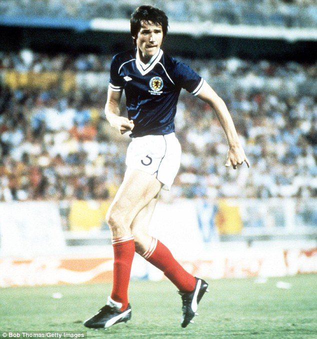 Class act: Alan Hansen was a sensational defender in his pomp for both Scotland and Liverpool