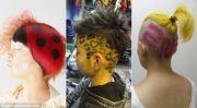 teenagers in japan dye hair