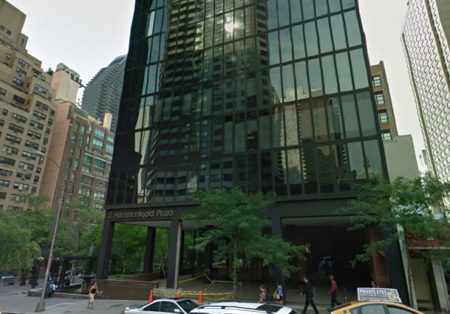 This New York City building houses the Saudi consulate that's nearest to Boston. It's here that Tamerlan Tsarnaev likely applied for an entry visa, a request that the Saudi government denied