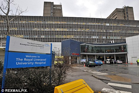 Attack: The 80-year-old woman was attacked by Edward Deevy in a cubicle at Royal Liverpool University Hospital