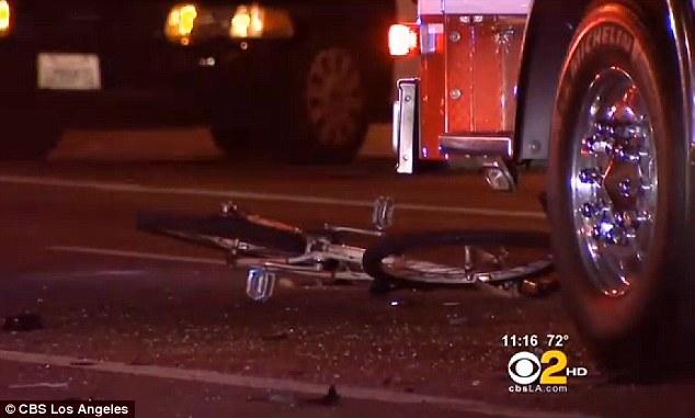 Αποτέλεσμα εικόνας για destroyed bicycle hit by car