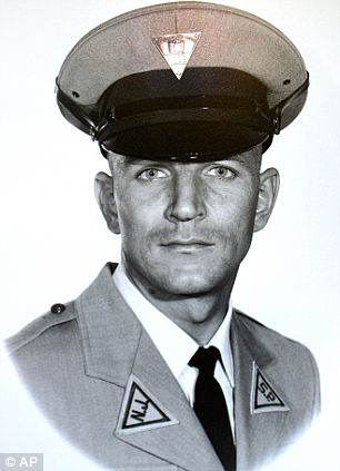 Slain: Chesimard was convicted of killing New Jersey State Trooper Werner Foerster in a 1973 shootout 40 years ago May 2