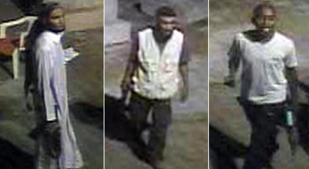 The FBI released these photos on Wednesday of individuals who sere seen near the Benghazi consulate on the day Libyan terrorists attack it, killing four Americans including the U.S. ambassador. The raid on that diplomatic outpost happened eight months ago