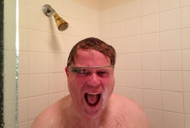 Robert Scoble, a tech blogger, has already tweeted a picture of himself in the shower with Glass - but experts warn 'private moments' could be seen by hackers