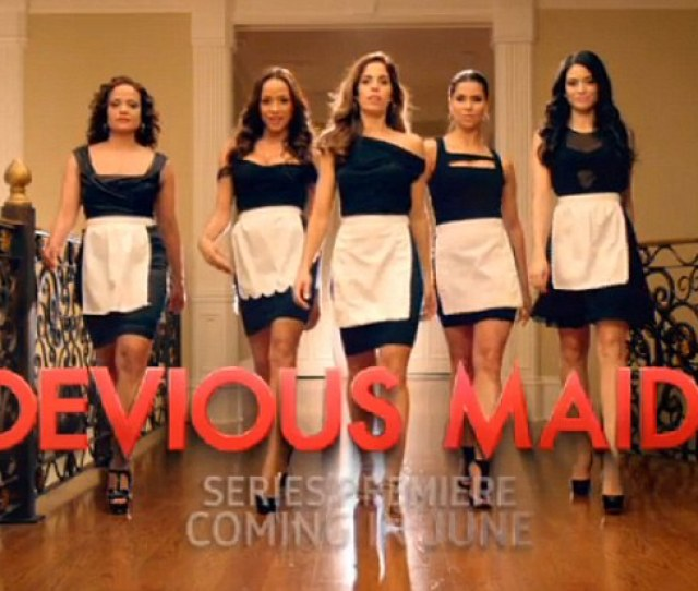 Housekeeping With A Sexy Twist Marc Cherrys Anxious Awaited New Show Devious Maids Premieres On