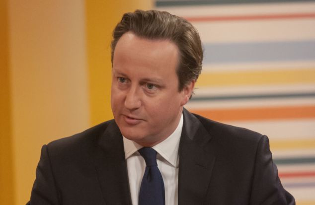 Balding? Prime Minister David Cameron