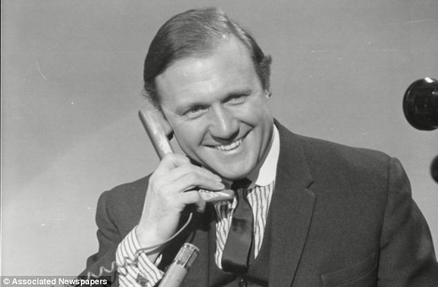 Presenter: Stuart Hall pictured in 1968. Detectives believe that other BBC staff may have helped Hall trick girls into visiting him