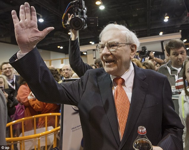 Oracle: Investor Warren Buffett greets shareholders. No other annual meeting can rival Berkshire's, which is known for its size and the straight talking Buffett