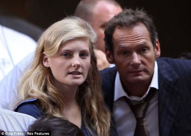 Cause for concern: Lester, pictured in 2009 with daughter Harriet, said he began to doubt the paternity of Jackson's children when he 'noticed the likenesses in my own children and his'