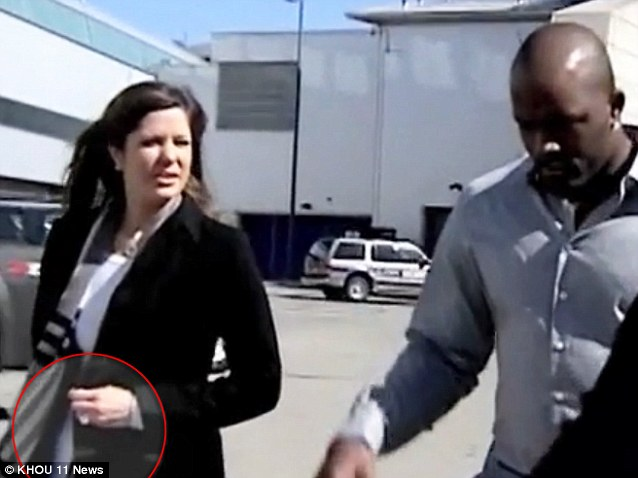 Bring that bling: Mario Williams has gone on the offensive - he wants the 10-carat $785,000 diamond engagement ring he gave to Erin Marzouki, his former fiancée, back