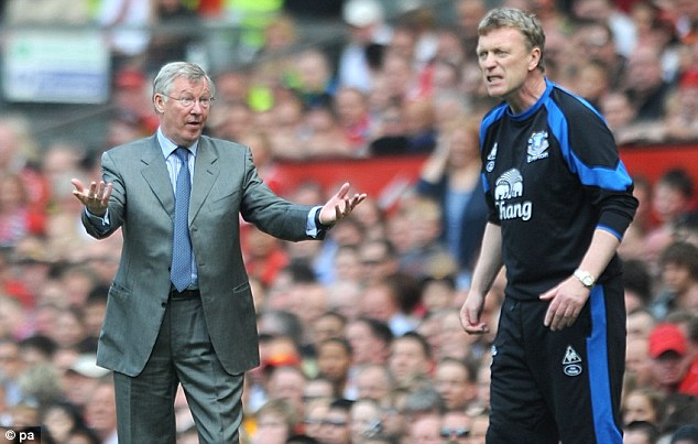 Moving on: Moyes met with Kenwright yesterday and looks set to replace Fergie today