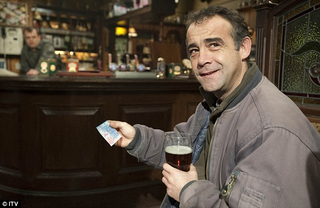 Soap star: Michael Le Vell has played mechanic Kevin Webster on Coronation Street for almost 30 years