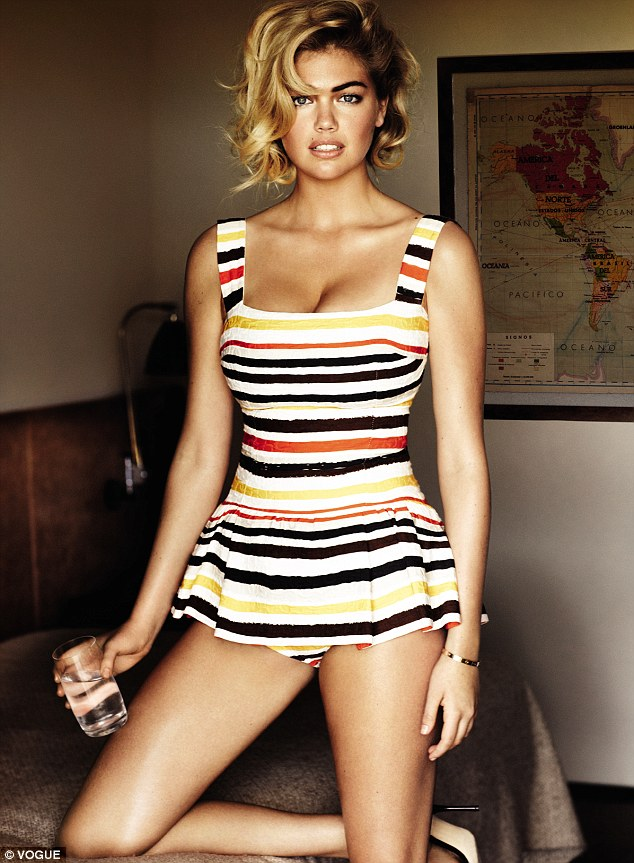 kate upton in june issue of vogue