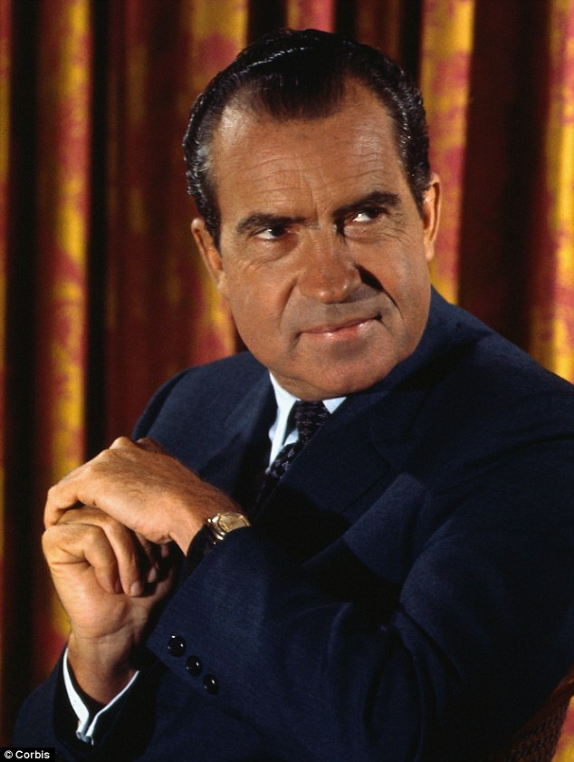 'Behind closed doors': 'Nixon knew Jack Ruby, hired him on House payroll in 1947 at request of ¿ Lyndon Johnson,' Stone writes.