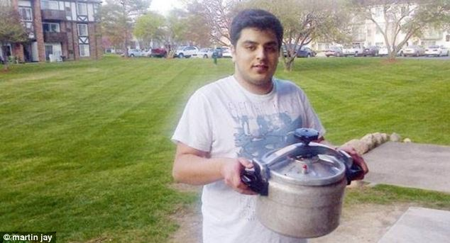 Talal al Rouki, the Saudi student who was questioned by FBI agents in his home after neighbour saw him carrying a pressure cooker to a friend's house