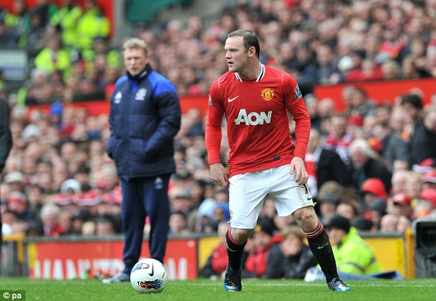 Goodbye? Rooney could be heading for the Old Trafford exit door